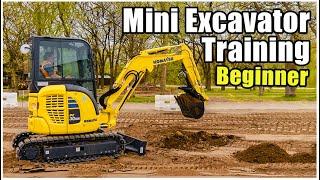 Mini-Excavator Training (Beginner) 2020 | Heavy Equipment Operator Training