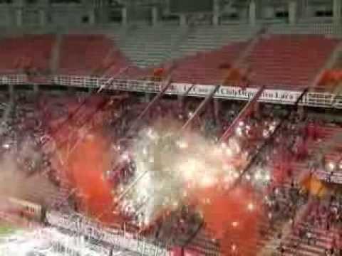 """Salida Copa Sudamericana 2012"" Barra: Huracan Roji-Negro • Club: Deportivo Lara"