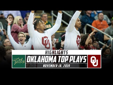 Oklahoma Basketball Top Plays vs. William & Mary (2019-20) | Stadium