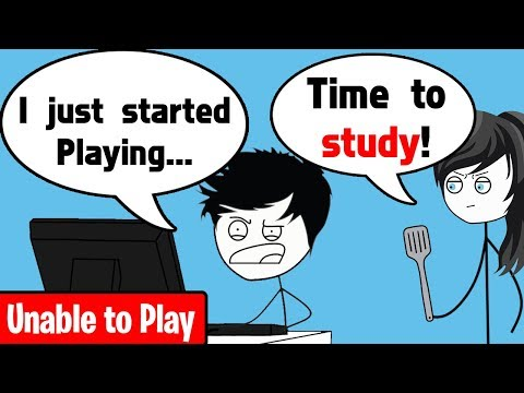 When a Gamer is unable to Play Games download YouTube video