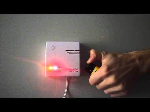 Cordes Gasmelder C-3000 Gasalarm für Erdgas und Propangas