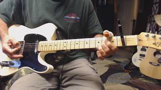 She's Got The Rhythm (And I Got the Blues) - Alan Jackson - (guitar cover - open G)