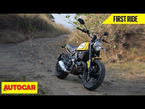 Ducati Scrambler Icon   First Ride   Autocar India