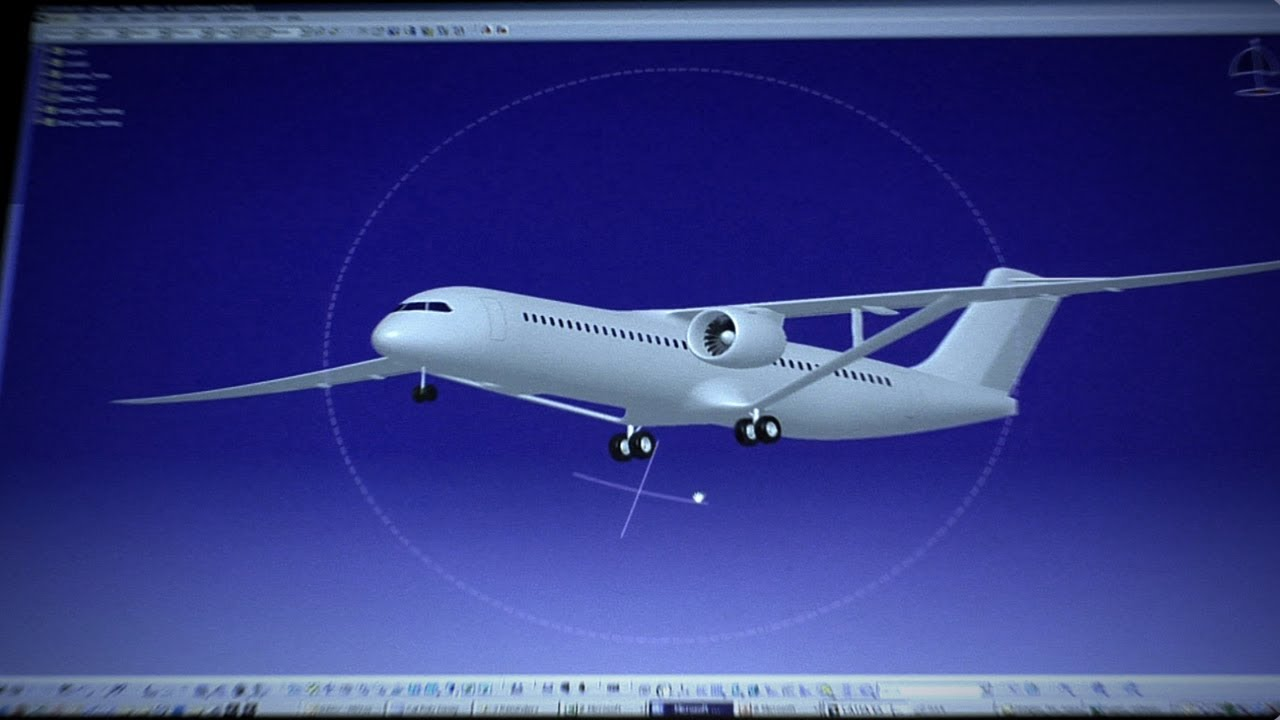 Boeing's Concept SUGAR Plane Plugs In Like A Prius