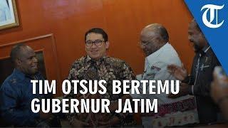 Fadli Zon dan Tim Otsus Temui Gubernur Jatim Terkait Kerusuhan Papua di Surabaya