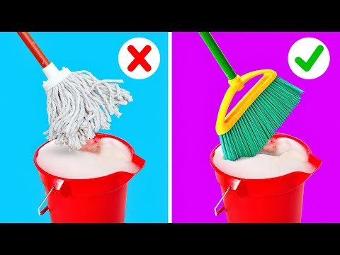 25 Efficient Cleaning Hacks