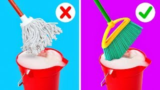 25 CLEANING HACKS TO SPEED UP YOUR ROUTINE
