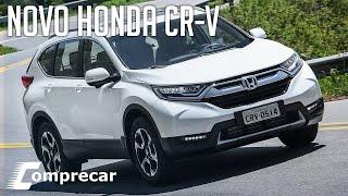 Avaliamos o novo Honda CR-V