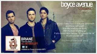 Boyce Avenue - Briane (Official Song & Lyrics) on iTunes & Spotify