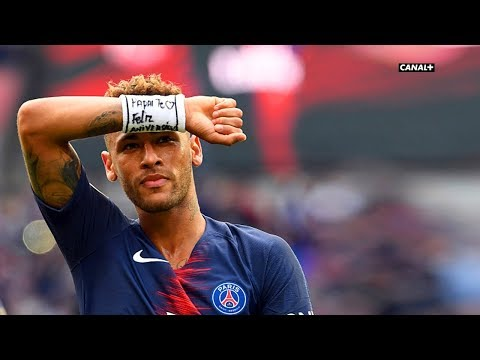 Neymar vs Angers (Home) HD 720p (25/08/2018)