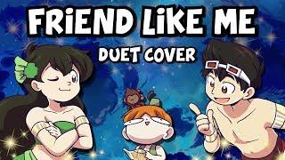 "Video thumbnail of ""『Aladdin DUET』Friend Like Me【Kathy-chan★ & djsmell】"""