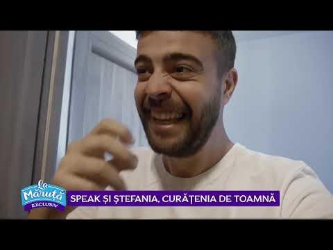Speak si Stefania, curatenia de toamna