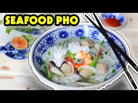 SEAFOOD PHO – Phở Hải sản