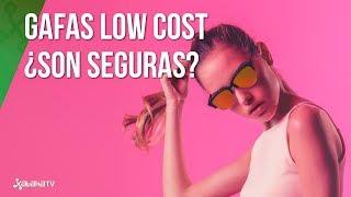 Gafas de sol Low-cost, ¿peligrosas para nuestra salud?