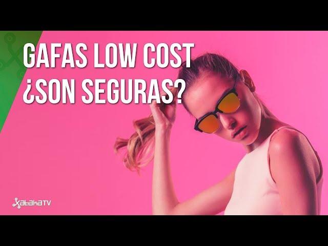 ¿Son peligrosas para nuestra salud las gafas Low-cost?