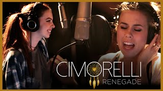 "Cimorelli records ""Renegade"" live in the studio- Cimorelli Renegade"