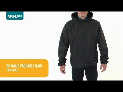 Herren Laufjacke RP. Basic  Packable Rain Jacket
