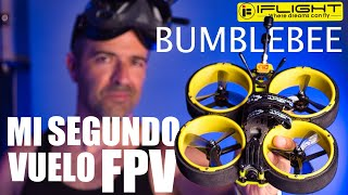 Mi SEGUNDO vuelo FPV casi ACABA MAL | iFlight BUMBLEBEE CINEWHOOP Review