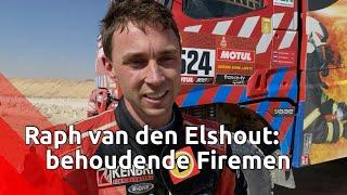 Raph van den Elshout (Firemen Dakar Team): 'Ontzettend lekkere rally gereden'