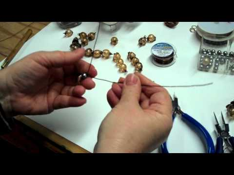 Easy Wire Wrapping, Pod Pendants, Necklace Construction with B'sue