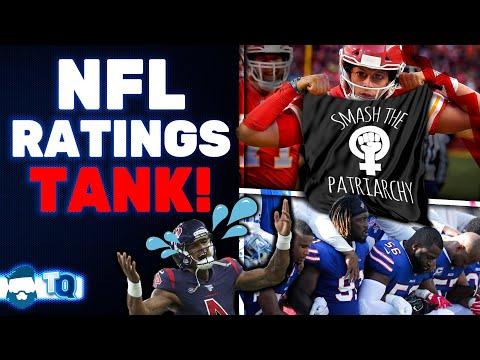 WOKE Backfire! NFL Ratings TANK & NBA Study Says Politics Led To Ratings Collapse!