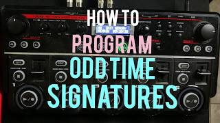 BOSS RC-505: Programming Odd Time Signatures Tutorial