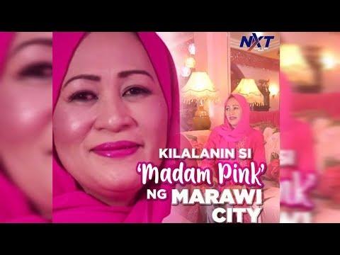 Kilalanin si 'Madam Pink' ng Marawi City | NXT