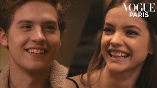 Barbara Palvin and Dylan Sprouse have a dinner date | Vogue Paris