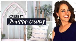 ⭐HOW TO Decorate Like JOANNA GAINES: 3 Magnolia Home FARMHOUSE DIYs!