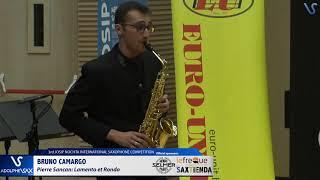 Bruno Camargo plays Lamento et Rondó by Pierre Sancan