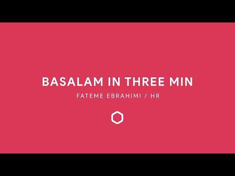 Basalam in 3 minutes