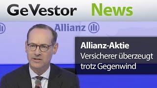 Allianz-Aktie – Der Versicherer überzeugt trotz Gegenwind
