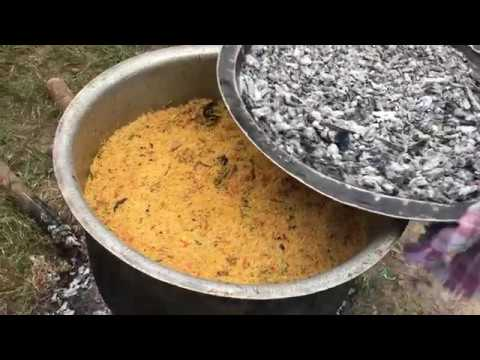 Perfect Mutton Biryani - Full Lamb Biryani - Young Chef Cooks the Tastiest Mutton Dum Biryani