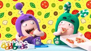 पिज़्ज़ा और दोस्त   हिंदी कार्टून   Oddbods Hindi