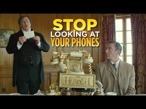 Přestaňte zírat na své telefony!