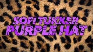 Sofi Tukker Purple Hat