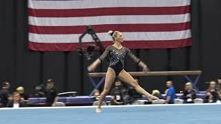 MyKayla Skinner– Floor Exercise – 2019 U.S. Gymnastics Championships – Senior Women Day 1