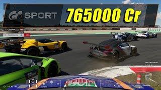 GT Sport - Easy Money In Just 1 Race - 765000 Cr (1080@60)