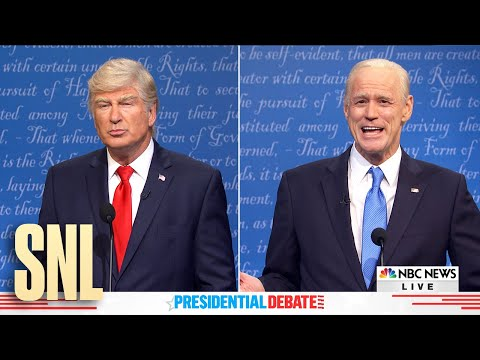 Final Debate Cold Open - SNL music video cover