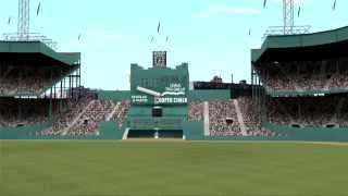 Classic NY baseball stadium virtual tour - Yankee, Shea, Ebbets Field, Polo Grounds ASB 2004 PS2 HD