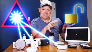 Breaking Into a Smart Home With A Laser - Smarter Every Day 229