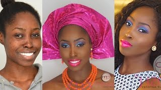 Glam Face Beat Series (#2) | How To | Nigerian Traditional Wedding Makeup Tutorial