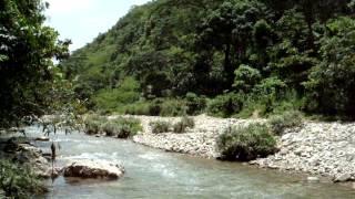 preview picture of video 'La Rivière Dorée, devant la Voûte à Minguet   Dondon, Haïti'