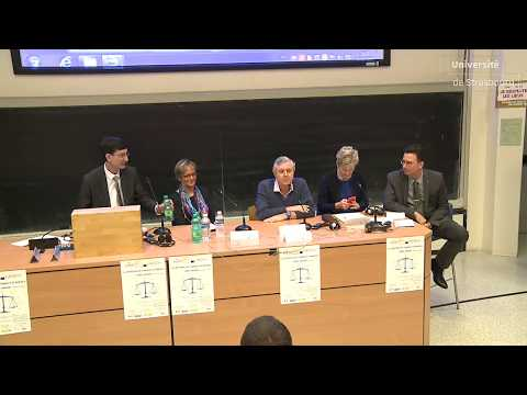 Table ronde : « Un parquet européen, pour quoi faire ? »