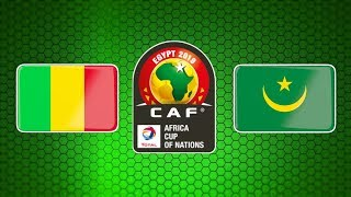 Mali Vs Mauritania - 2019 Africa Cup Of Nations - Group E - PES 2019