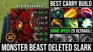 NEW Update Brings Back Cancer!!! Bloodseeker Super Monster Unleashed Counter Slark 26 Kills - DotA 2