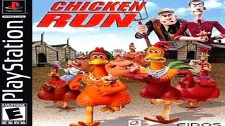 Chicken Run Game Review (2000) (PS1) (HD Gameplay)