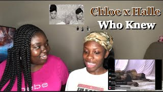 Chloe X Halle   Who Knew Music Video | Reaction