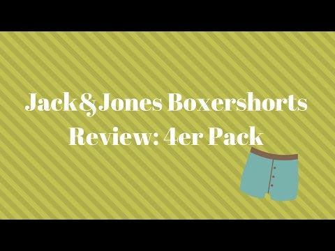 4er Pack: (XL) Jack&Jones Boxershorts in grau/rot/dunkelblau/blau