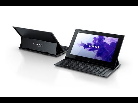 Sony VAIO Duo 11 Windows 8 Hybrid Tablet Ultrabook hands on at IFA 2012
